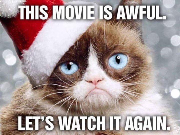 Movie night grumpy cats worst christmas ever johnstonnow possibly the worst rated movie ever butumpy cat 700 cover popcorn drink and cats provided at no extra charge limited seating advanced ticket thecheapjerseys Choice Image