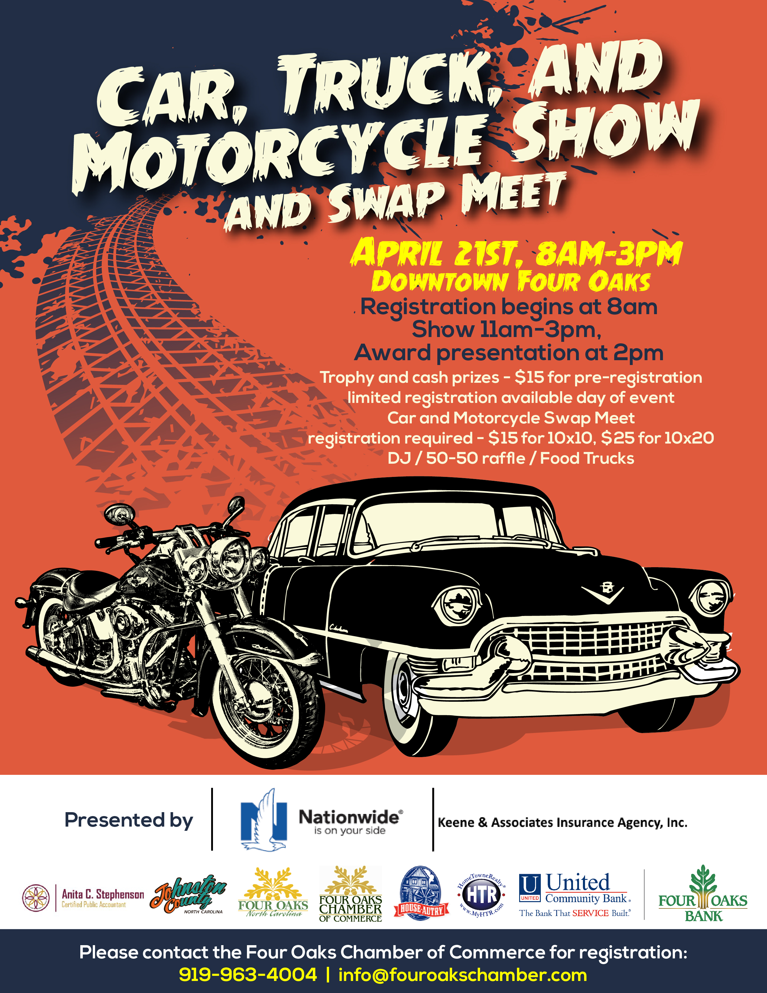 Four Oaks Car Truck And Motorcycle Show JohnstonNowcom - Car and truck shows near me